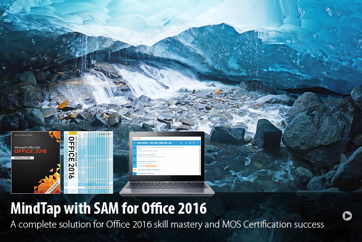 MindTap with SAM for Office 2016