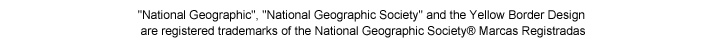 National Geographic, National Geographic Society, and the Yellow Border Design are registered trademarks of the National Geographic Society.
