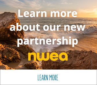 Learn more about our new partnership NWEA.