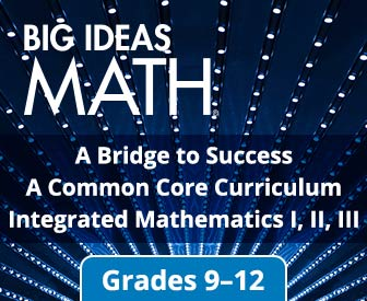 Big Ideas Math® Grades K-12 – NGL School Catalog – Series