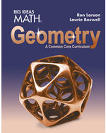 Big Ideas Math Geometry: A Common Core Curriculum, Student Edition