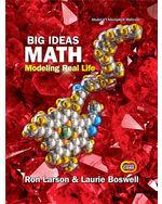 Big Ideas Math: Modeling Real Life Common Core - Grade 7