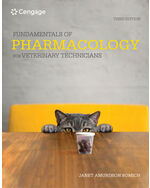 Fundamentals Of Pharmacology For Veterinary Technicians Ngl School Catalog Product 9780357361474