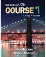 Big Ideas Math Course 1: A Bridge to Success, Student