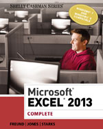 Microsoft® Excel® 2013: Complete