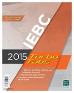 2015 International Existing Building Code® Turbo Tabs for Loose Leaf