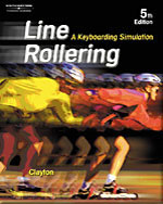 Line Rollering: A Keyboarding Simulation