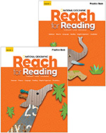 Reach for Reading 1: Practice Book Set (2 Volumes)