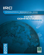 2009 International Residential Code Commentary, Volume 2