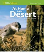 National Geographic Science 1-2 (Life Science: Habitats): Become an Expert: At Home in the Desert, 8-pack