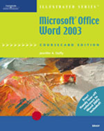 Microsoft Office Word 2003, Illustrated Brief, CourseCard Edition