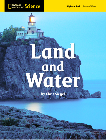 National Geographic Science 1-2 (Earth Science: Land and Water): Big Ideas Student Book, 8-pack