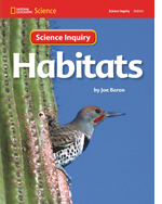 National Geographic Science 1-2 (Life Science: Habitats): Science Inquiry Book, 8-pack