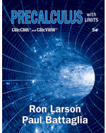Precalculus with Limits, 5th Student Edition