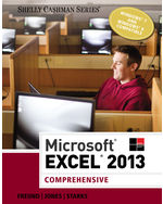 Microsoft® Excel® 2013: Comprehensive