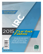 2015 International Residential Code® Turbo Tabs for Paper Bound Edition