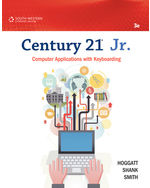 Century 21® Jr. Computer Applications with Keyboarding