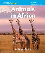 National Geographic Science K (Life Science: Animals): Become an Expert: Animals in Africa, 8-pack