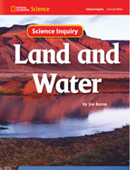 National Geographic Science 1-2 (Earth Science: Land and Water): Science Inquiry Book, 8-pack