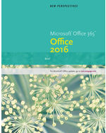 New Perspectives Microsoft® Office 365 & Office 2016: Brief