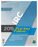 2015 International Residential Code® Turbo Tabs for Loose Leaf Edition