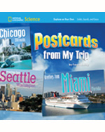 National Geographic Science 1-2 (Physical Science: Solids, Liquids, and Gases): Explore on Your Own: Postcards from My Trip, 8-pack