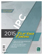 2015 International Plumbing Code® Turbo Tabs for Loose Leaf Edition