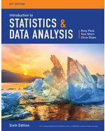 Introduction to Statistics and Data Analysis, AP® Edition