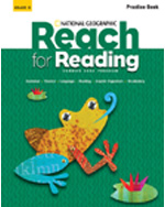 Reach for Reading K: Practice Book Set (2 Volumes)