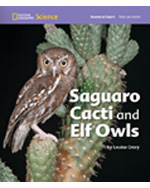 National Geographic Science 1-2 (Life Science: Plants and Animals): Become an Expert: Saguaro Cacti and Elf Owls, 8-pack