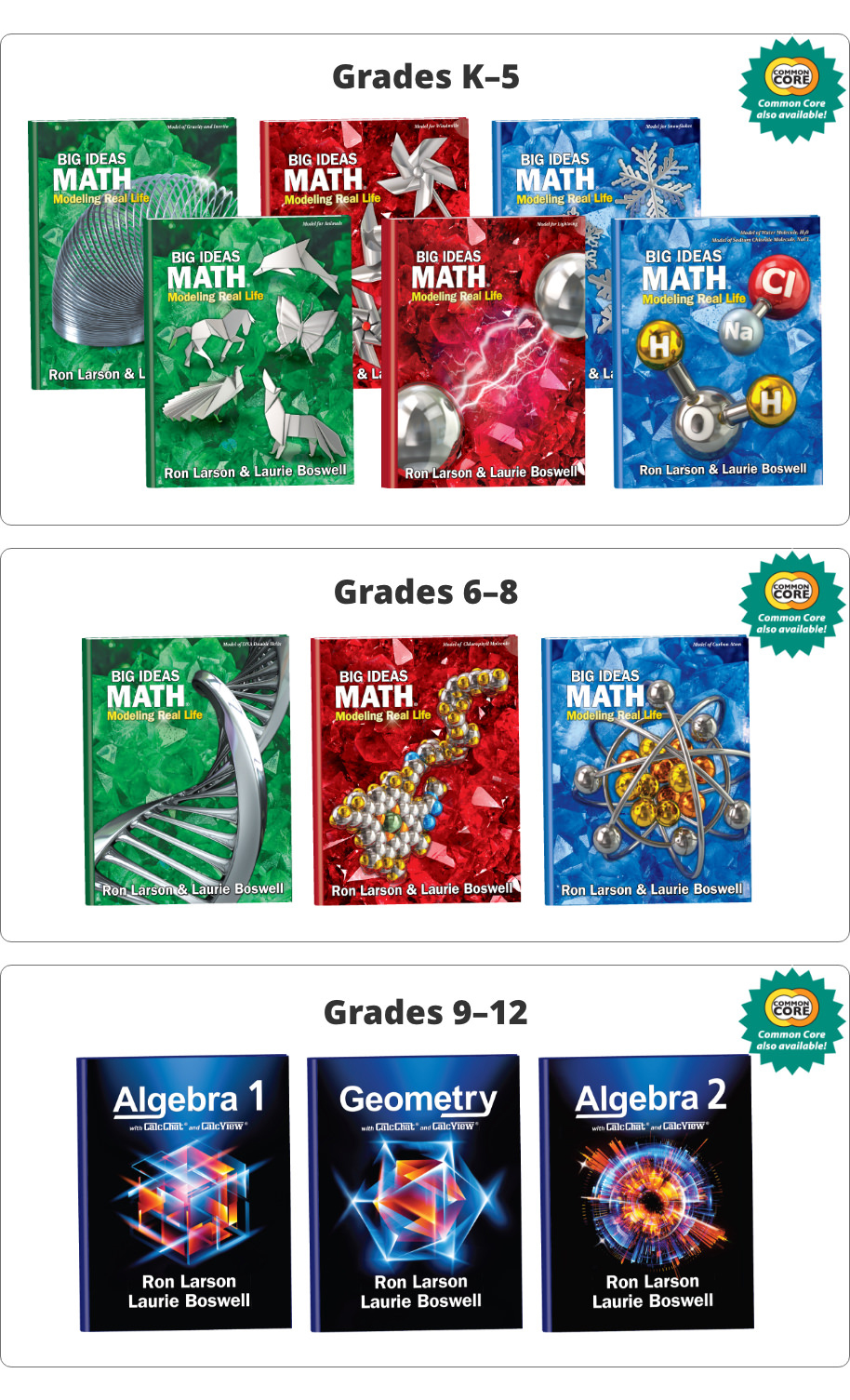 big ideas math® grades k-12 – ngl school catalog – series pro0000009060