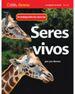 National Geographic Science 1-2 (Life Science: Living Things) Science Inquiry Book, Spanish
