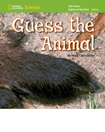 National Geographic Science K (Life Science: Animals): Explore on Your Own: Guess the Animal, 8-pack