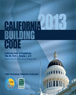 2013 California Building Code, Title 24 Part 2
