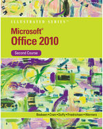 Microsoft® Office 2010 Illustrated Second Course