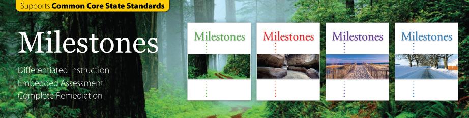 Milestones – NGL School Catalog – Series PRO0000000036
