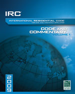 2009 International Residential Code Commentery, Volume 1