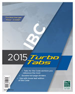 2015 International Building Code® Turbo Tabs for Loose Leaf Edition