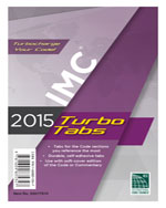 2015 International Mechanical Code® Turbo Tabs for Soft Cover