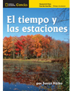 National Geographic Science K (Earth Science: Weather and Seasons): Big Ideas Big Book, Spanish