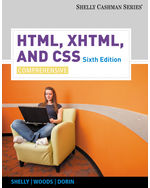 HTML, XHTML, and CSS: Comprehensive