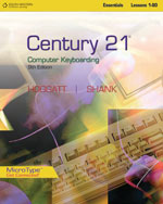 Century 21™ Computer Keyboarding, Lessons 1-80