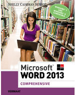 Microsoft® Word 2013: Comprehensive