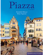Piazza: Introductory Italian, Student Edition