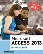 Microsoft® Access 2013: Introductory