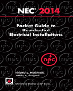 National Electrical Code 2014 Pocket Guide for Residential Electrical Installations