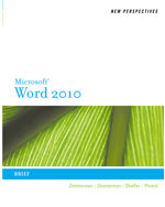 New Perspectives on Microsoft® Word 2010: Brief
