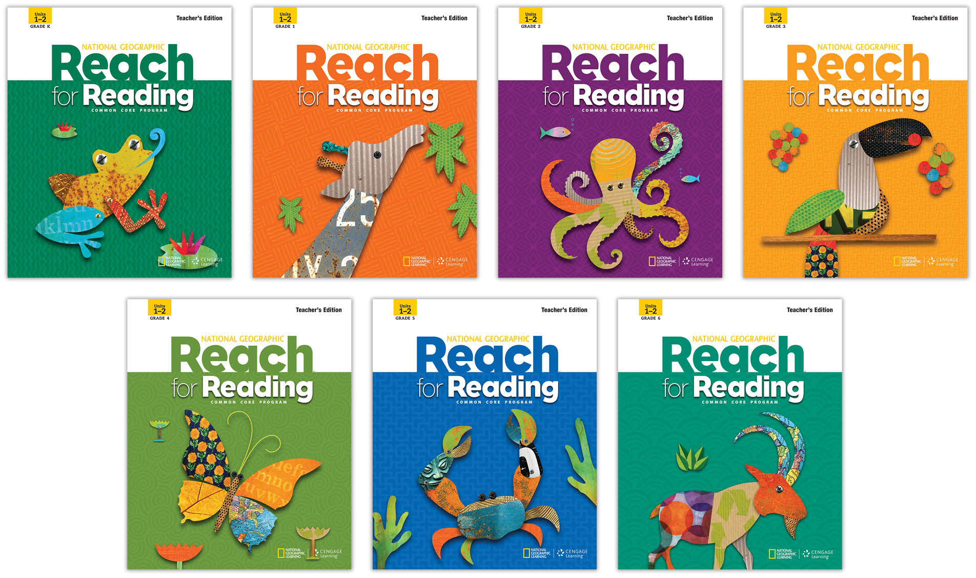 Reach for Reading Language Program (CCSS) - NGL