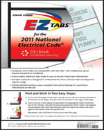 Color Coded EZ Tabs for the 2011 National Electrical Code®