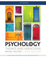 Psychology: Themes and Variations, AP® Ed.